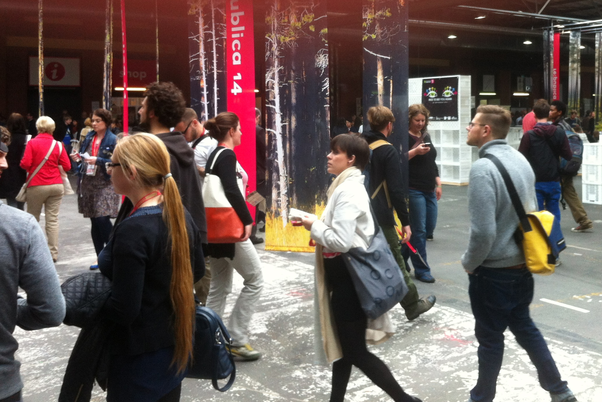 #rp14 - Besucher