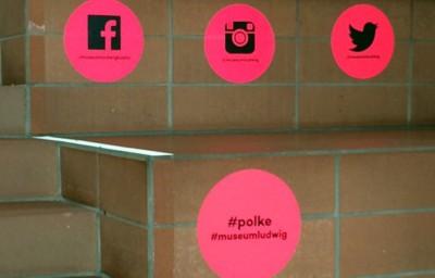 Social Media Icons Polke Museum