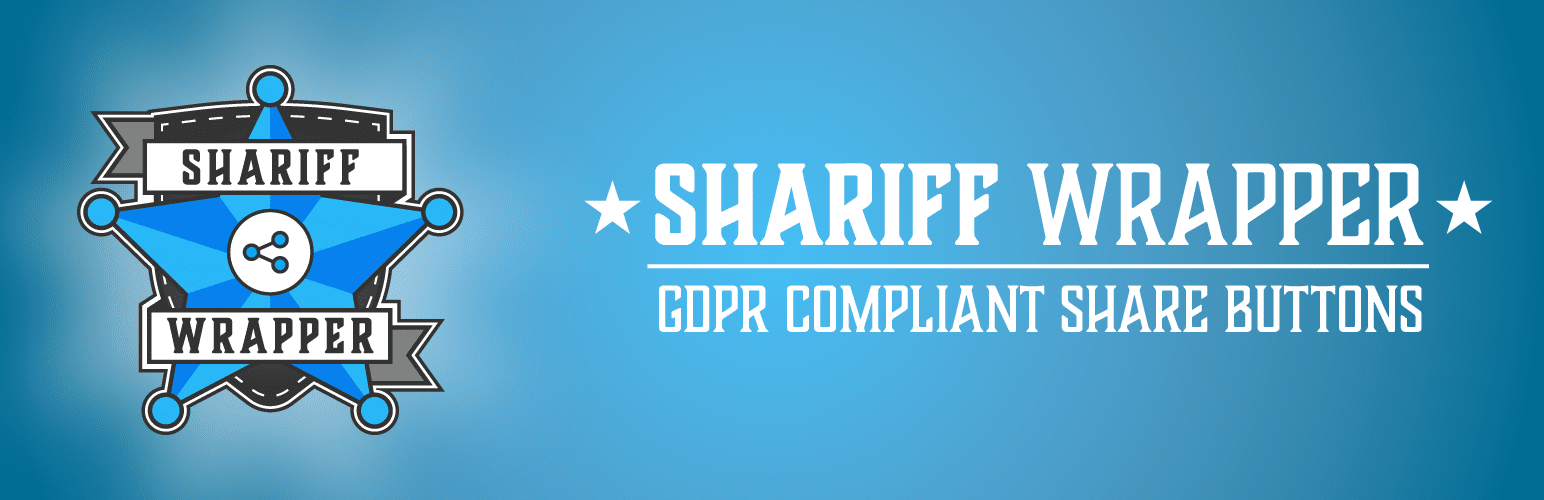Shariff Wrapper Plugin Banner
